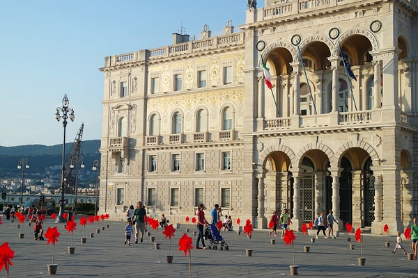 trieste Piazza Unità palais gouvernement