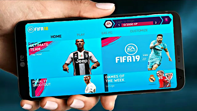 FIFA 19 Android Offline New Menu Latest Transfers Best Graphics HD