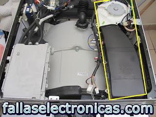 Lavadora y Secadora LG TROMM WD 1227RD error dHE