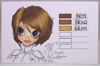 Heather's Hobbie Haven - ShinHan Marker Hair Color