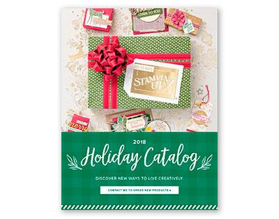 Christmas, holidays, 2018 catalog, stampin' up