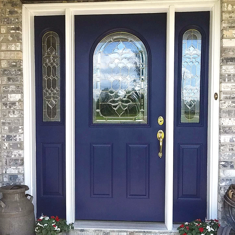 Decoart Front Door And Shutter Makeover Create It Simply