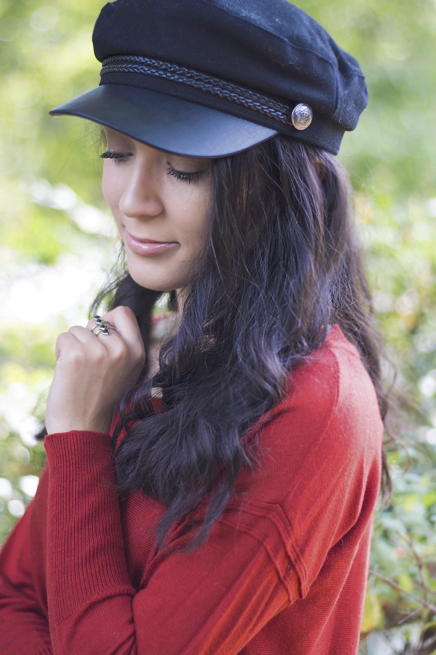how to style baker boy cap, h&M baker boy cap, fall's must have accessory