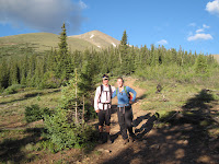 Climbing Mount Elbert