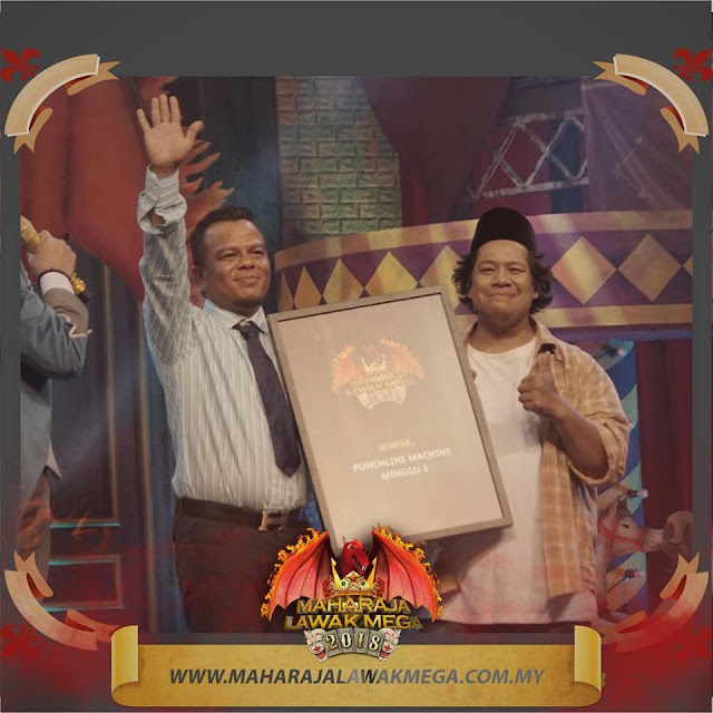 Live Streaming Maharaja Lawak Mega 2018 Minggu 5 (30.11.2018)