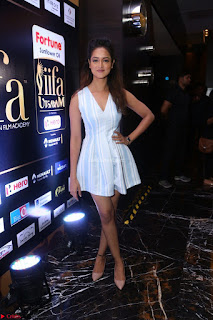 Shanvi Looks super cute in Small Mini Dress at IIFA Utsavam Awards press meet 27th March 2017 118.JPG