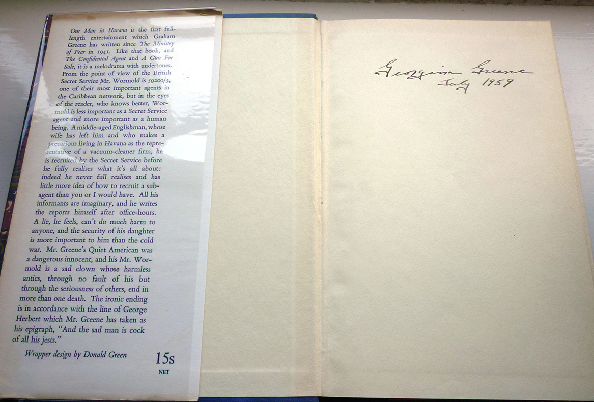 graham greene i spy Amazoncom: the spy's bedside book (9780553385908): dh lawrence, rudyard kipling, graham greene, hugh greene, stella rimington: books.