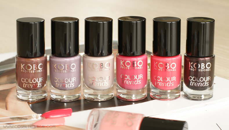 lakier do paznokci kobo colour trends