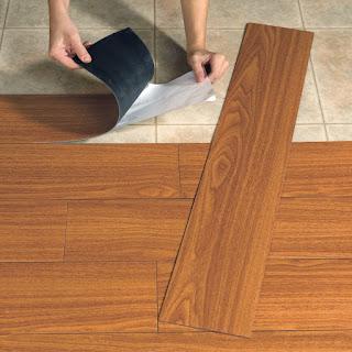 Jual lantai kayu vinyl