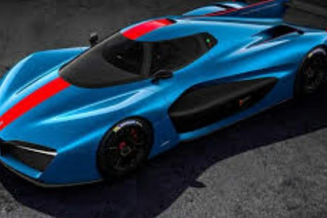 Pininfarina show eletric super car in Geneva motor show.