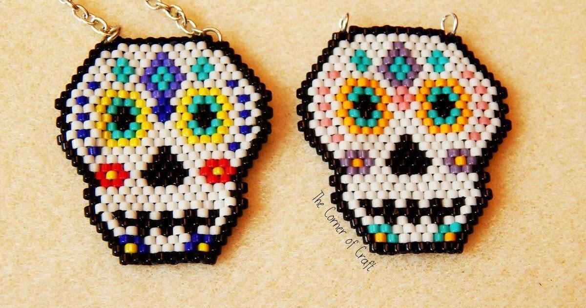 Diamond Sugar Skull Earrings