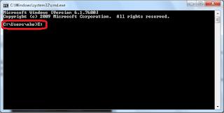 Cara Mudah Menghapus Virus Shortcut Di Flashdisk Dengan CMD