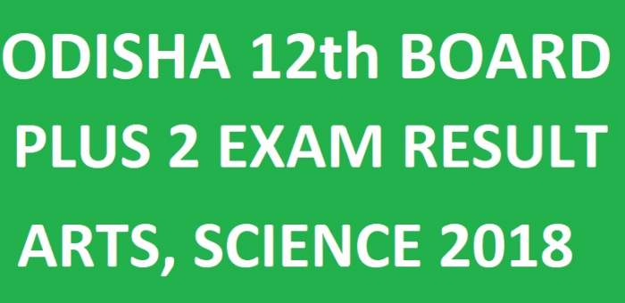 Odisha CHSE Results 2018 For Science, Arts, Commerce