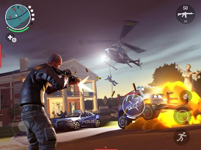 Download Gangstar New Orleans OpenWorld MOD APK v1.2.1f Full Hack Android Original Version