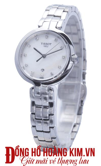 đồng hồ tissot nữ dây sắt chính hãng