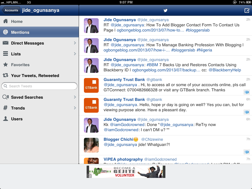 Echofon : Free Twitter app for iPad that Supports Multiple