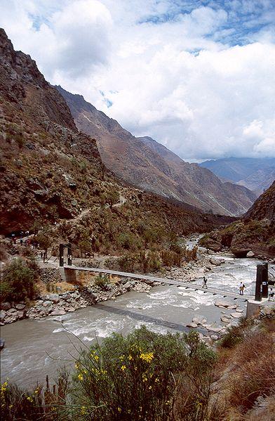 Urabamba River Peru
