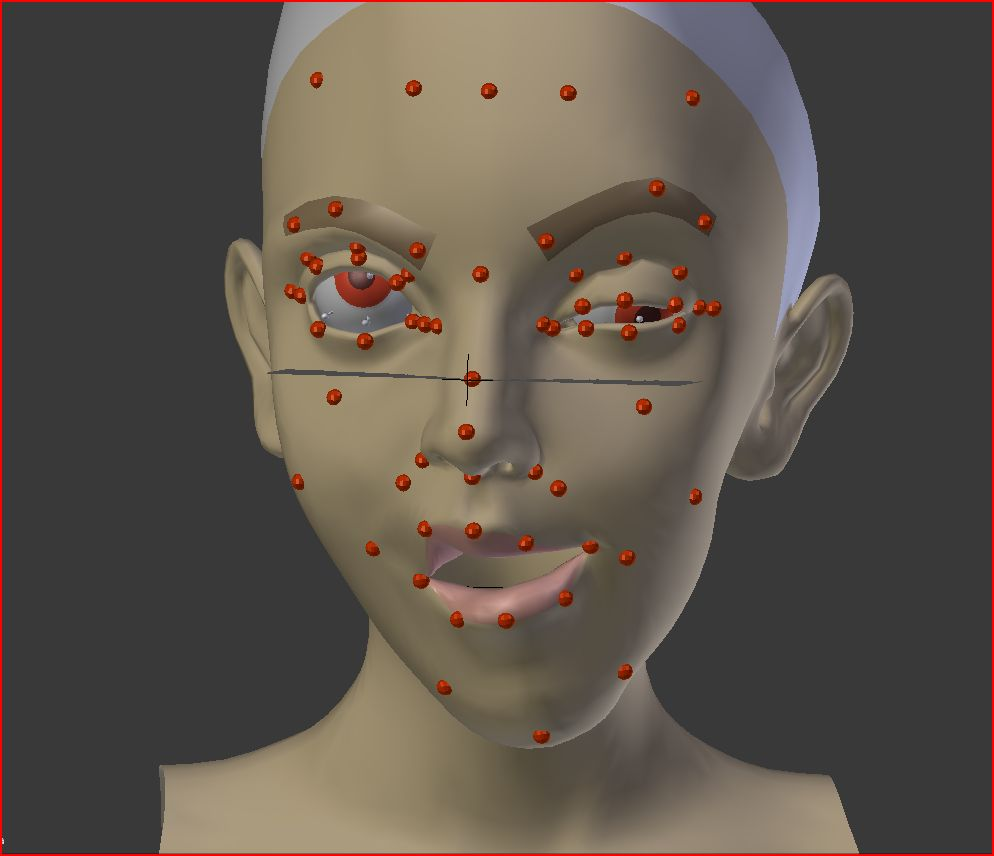 Blender Facial Rigging 88