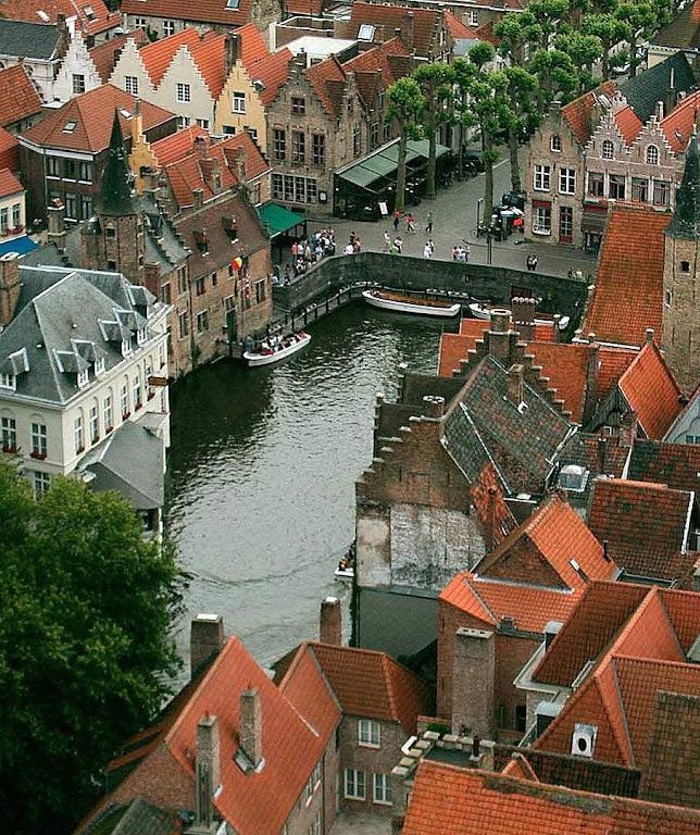Bruges, na Bélgica.