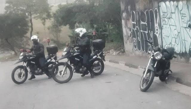 ROMO da GCM de Santo André localiza mais uma moto rouba na favela Tamarutaca