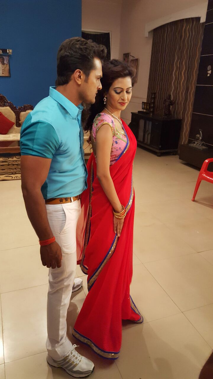 Tanushree Jwala Bhojpuri Movie Shooting stills, Jwala Bhandar Bhojpuri Movie