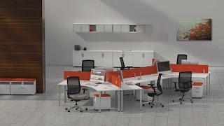 Open Concept Desking
