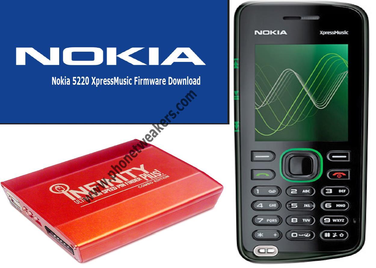 Nokia 5220 прошивку скачать