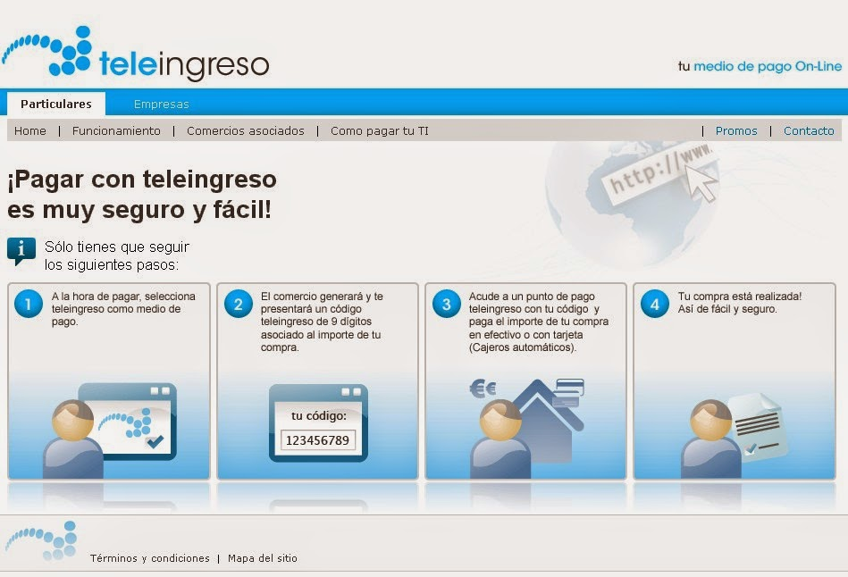 Teleingreso Screen