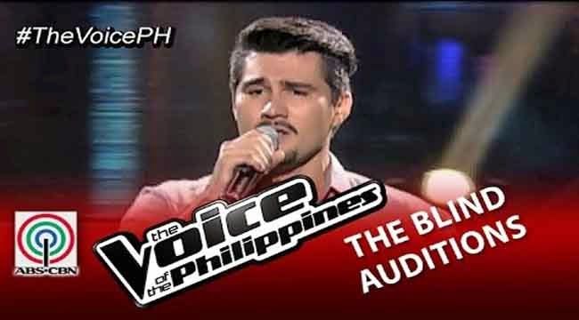 Video: Bradley Holmes sings 'Long Train Running' on The Voice of the Philippines Season 2 Blind Audition