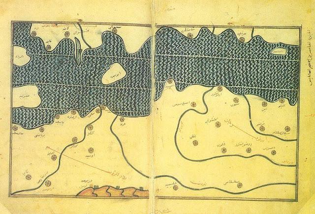 BAlkans map of al-Idrisi