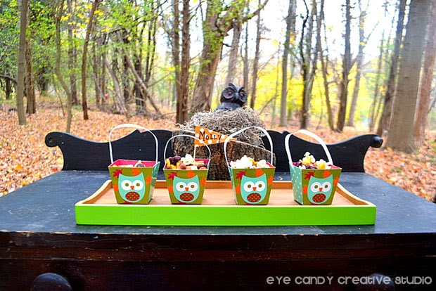owl treat boxes, snack mix, trail mix recipe, kids snacktime