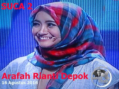 Arafah Rianti Depok lolos ke Babak 16 Besar SUCA 2