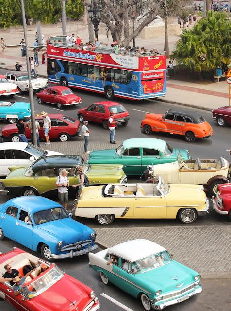 Cuban old classic cars