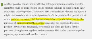 Les recharges de liquides nicotinés de vape interdites ?
