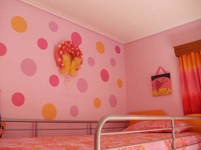Βάψε κύκλους στον τοίχο με τον πιο εύκολο τρόπο