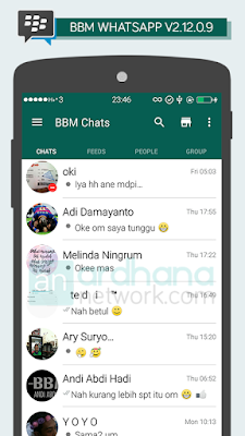 Preview BBM Whatsapp V2.12.0.9