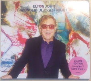 Elton John - Wonderful Crazy Night album cover