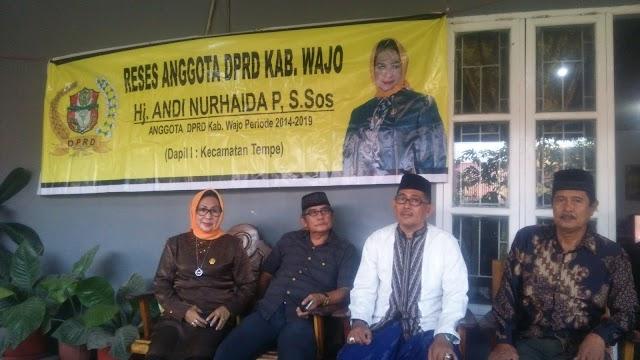 Petta Eda Gelar Reses Di BTN Nusa Idaman