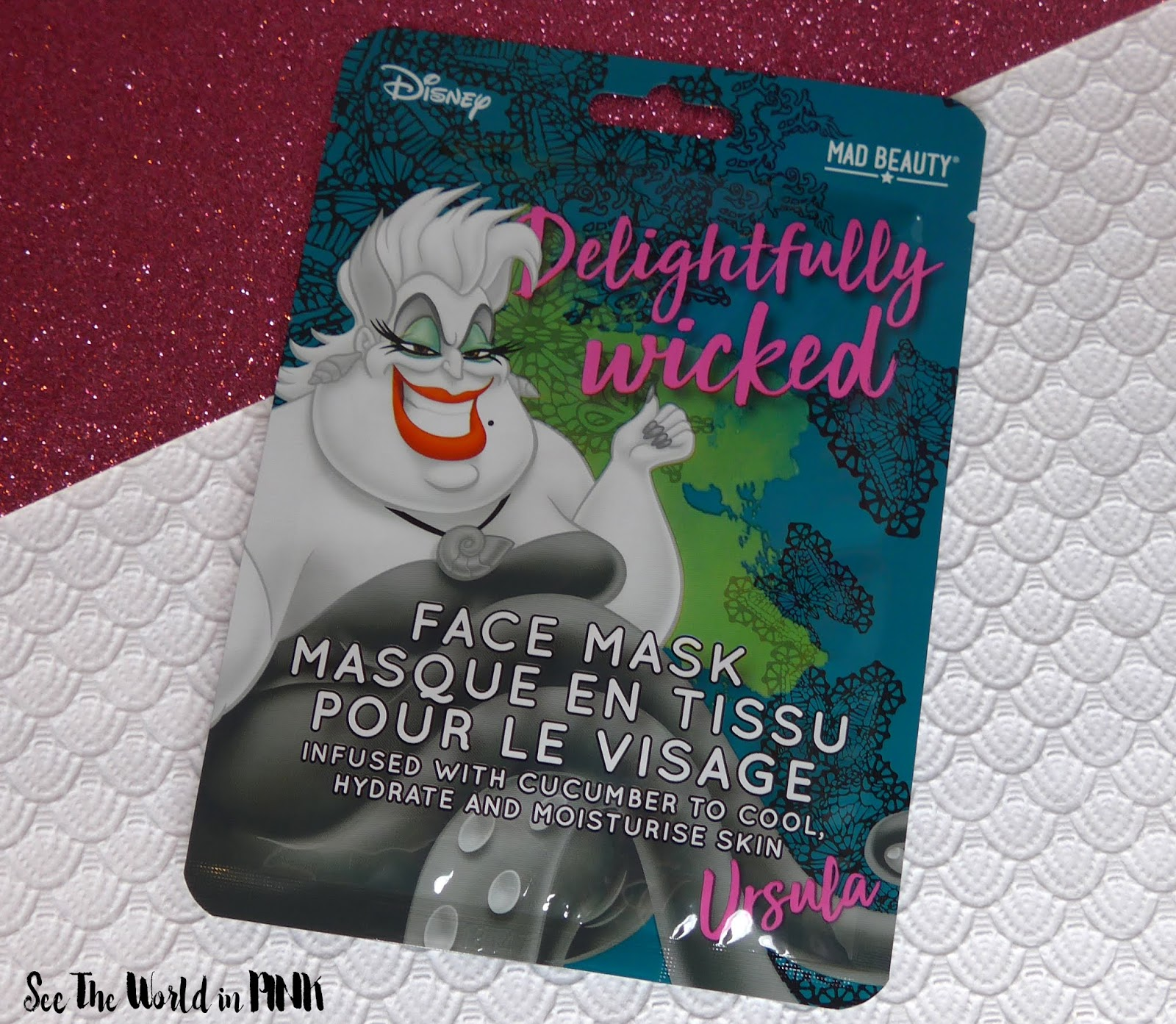 Mad Beauty Disney Villains Face Mask Collection - Try on and Review!