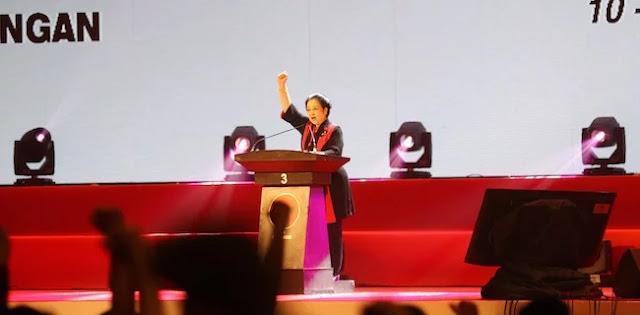 Pesan Khusus Megawati Jika Jokowi Terpilih Lagi