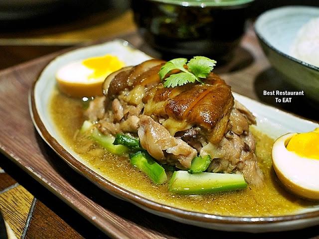 TOMMY THONGCHAI JAYA ONE  Menu -Pork Trotter Rice