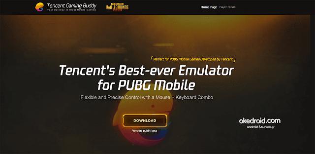 Tencent Gaming Buddy Emulator Resmi untuk PUBG Mobile Android di  PC