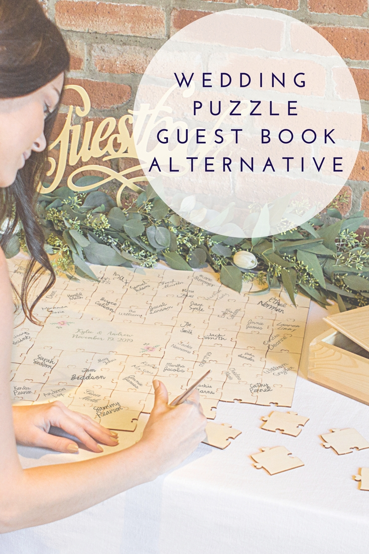 Wedding Guest Signature Puzzle