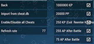 ppsspp cheat db 2018