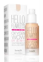 Benefit Cosmetics to launch Hello Flawless Oxygen Wow foundation