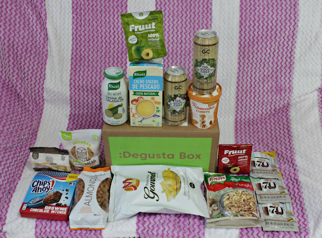 Degustabox Febrero 2019 Movie Night