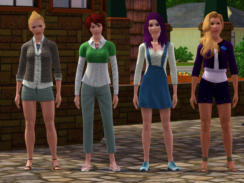 sim couture: everyday hot summer days: store set review +