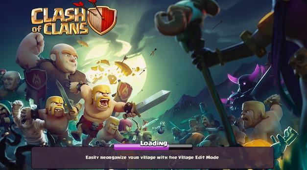 Download Clsah Of Clans Versi Terbaru