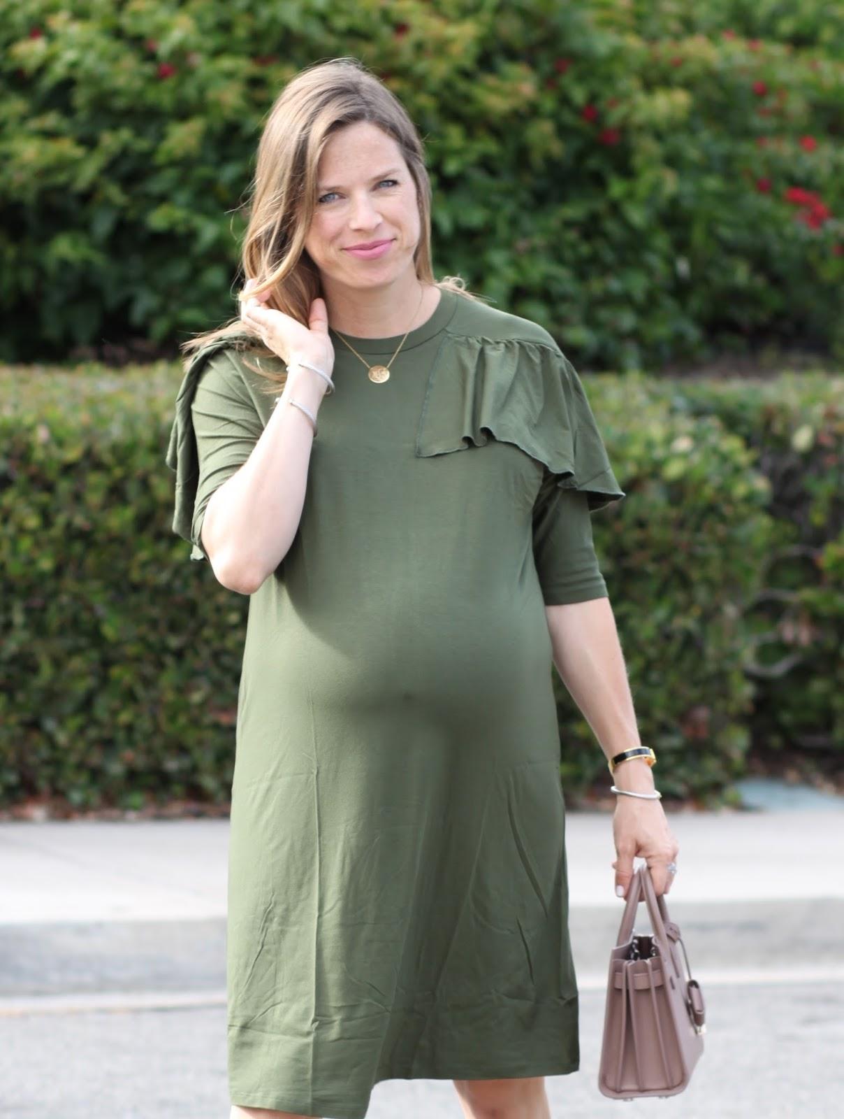 olive fall dress