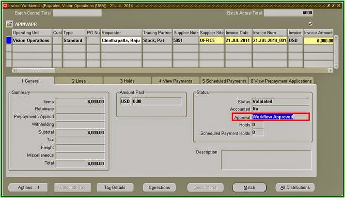 Oracle Applications Oracle Payables Invoice Approvals Workflow - Oracle r12 ap invoice approval workflow